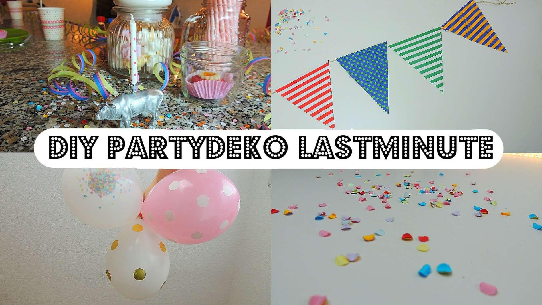 Party Deko Diy 1 Geburtstag Deko Selber Machen Home Ideen