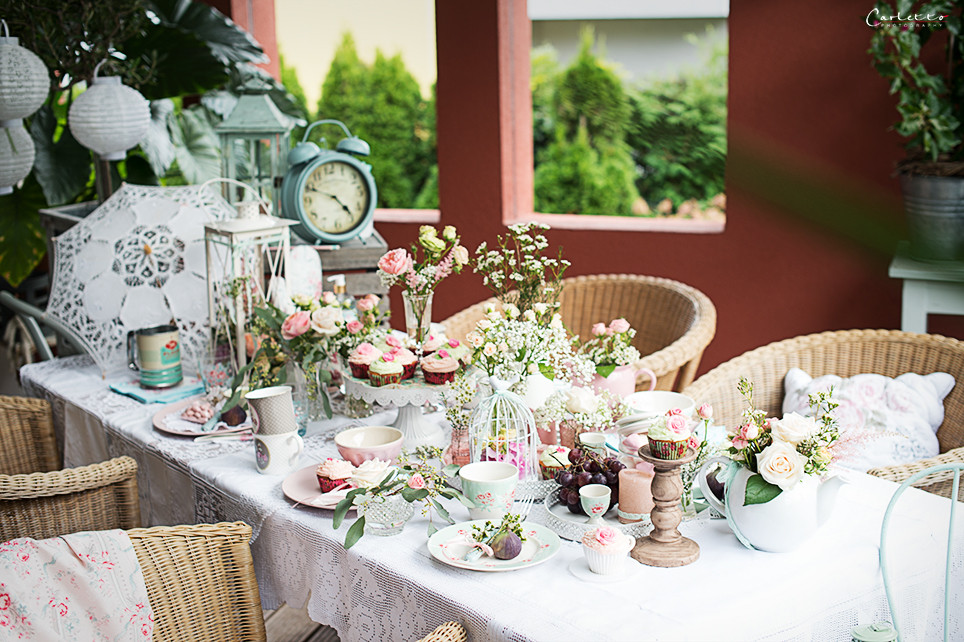 Party Deko Diy Vintage Tee Party Deko Tipps und DIY Ideen für eure