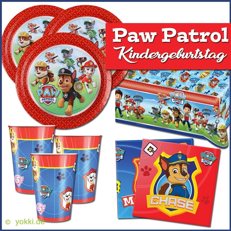 Paw Patrol Geburtstagsparty  Party Deko