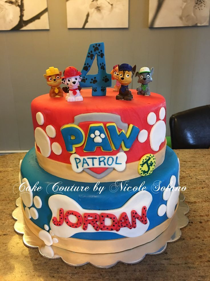 Paw Patrol Geburtstagsparty  Paw patrol cake
