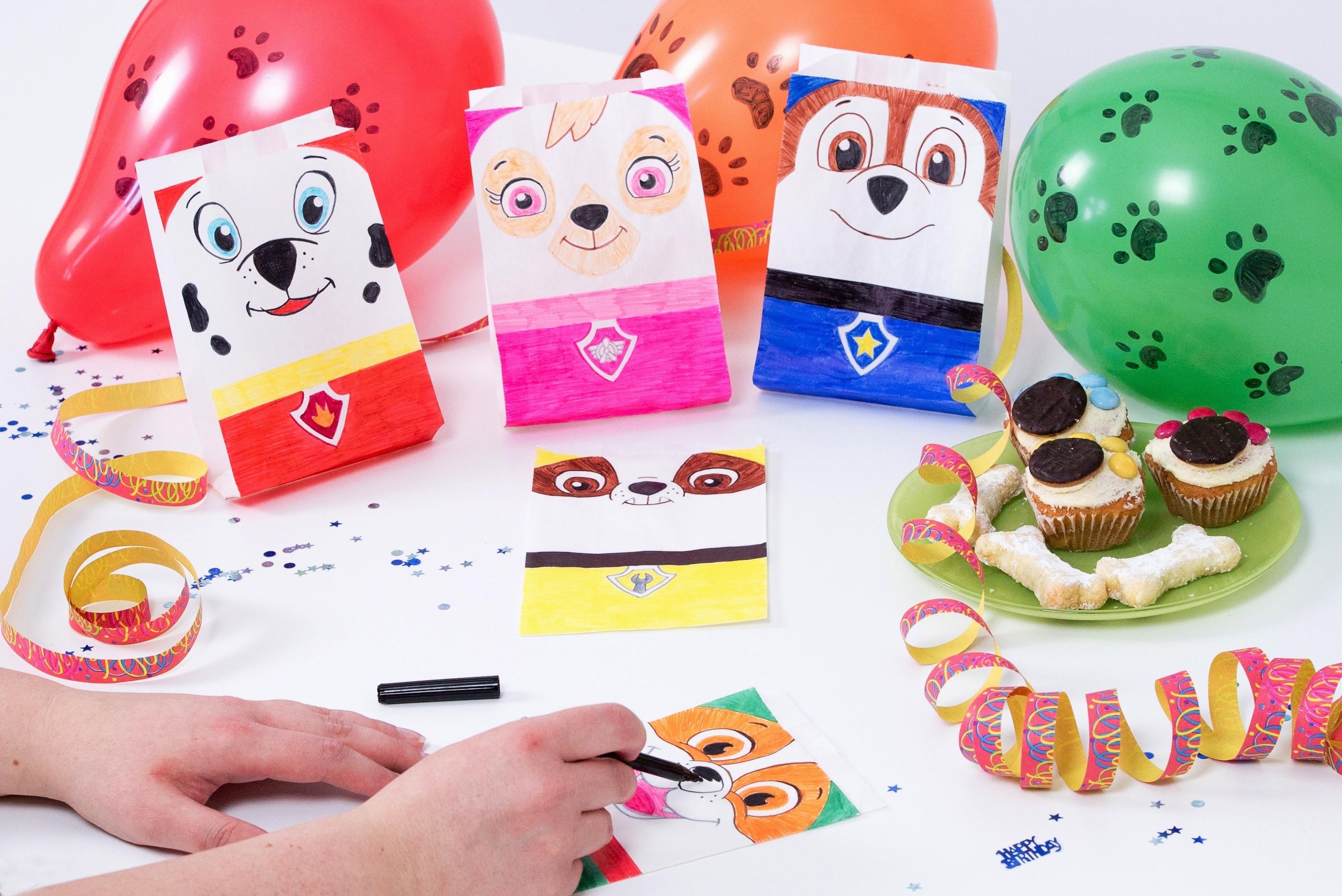 Paw Patrol Geburtstagsparty  PAW Patrol Kindergeburtstag – lustige Snack und Spiele Ideen
