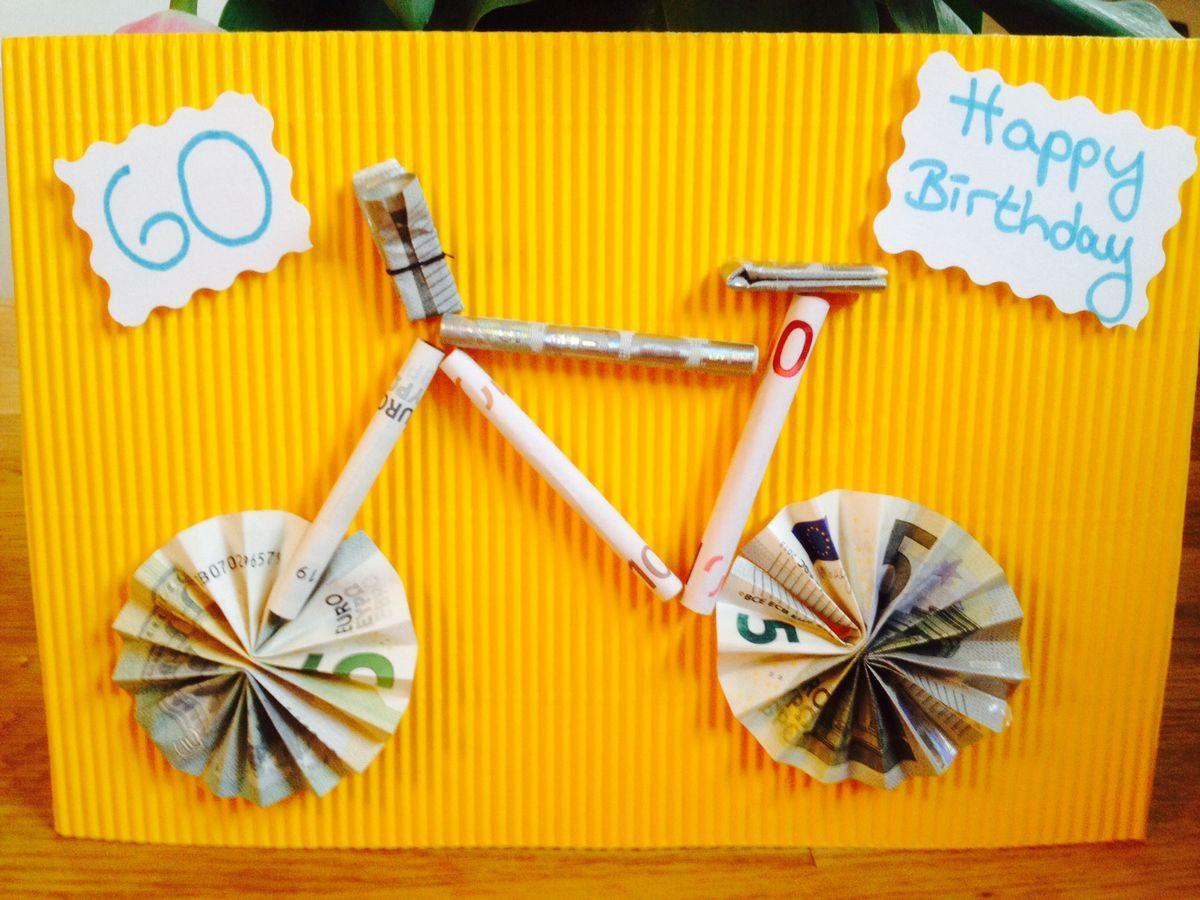 Pearl Geschenke  Geldgeschenk für einen Fahrrad Liebhaber