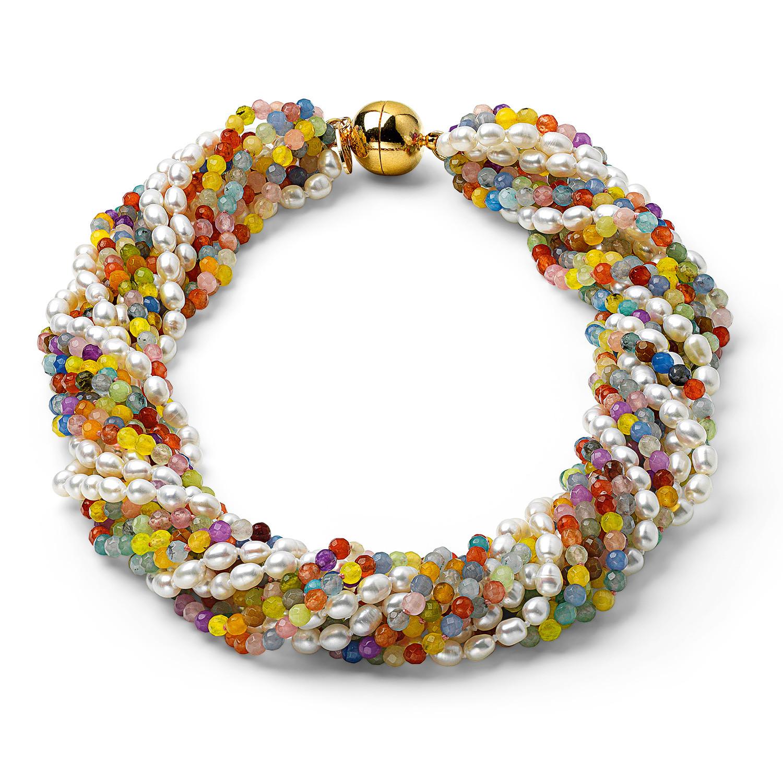 Pearl Geschenke  Perlencollier Color & Pearl Für Sie