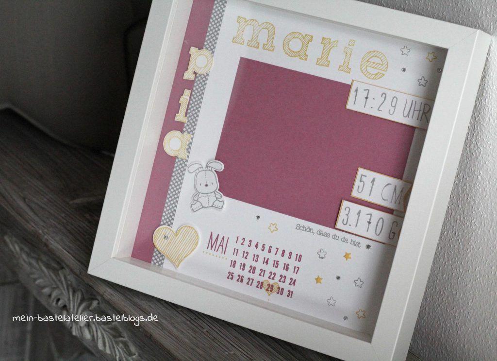 Personalisierte Geschenke Baby  Newborn Baby Rahmen personalisiertes Geschenk zur Geburt