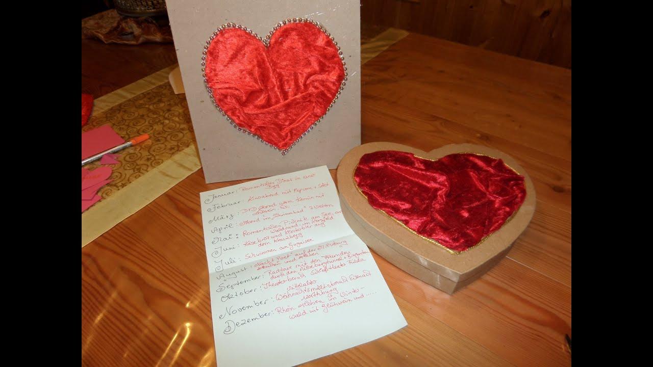 Persönliches Geschenk Für Freund Selbst Gemacht  DIY Last minute PERSÖNLICHES Geschenk für Liebsten