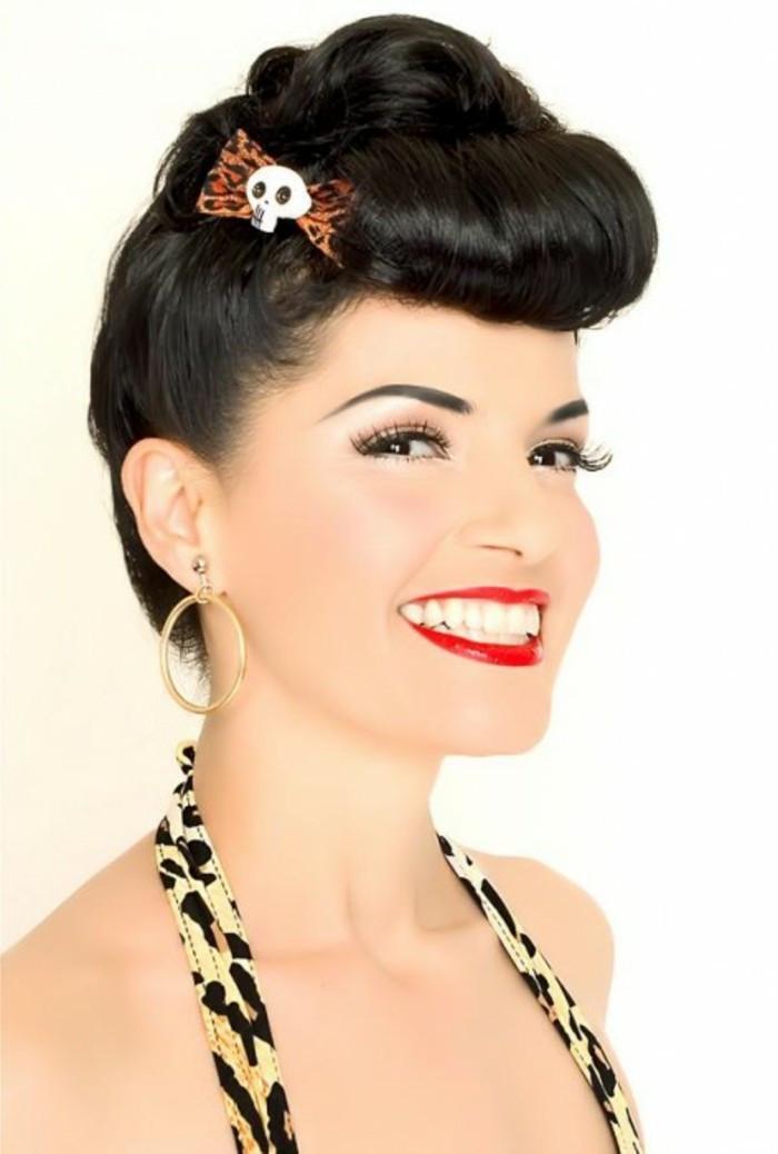 Pin Up Frisuren  140 Rockabilly Frisuren von den 50er inspiriert