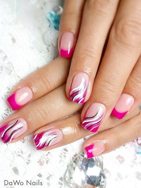 Pink Nageldesign  Nageldesign bilder pink