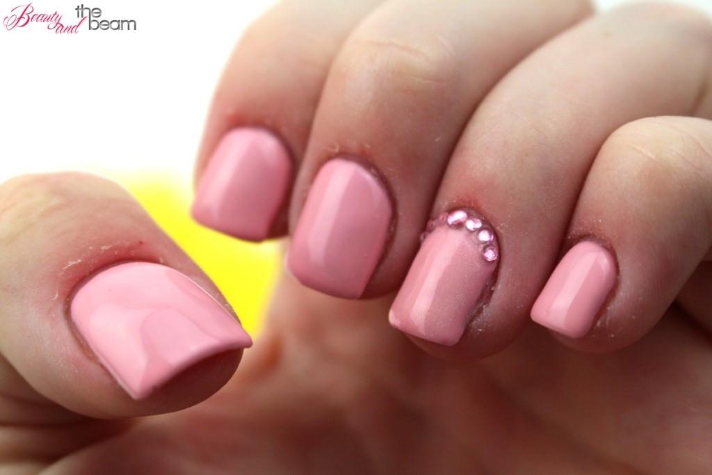 Pink Nageldesign  Pink Fullcover Nails [Nageldesign]