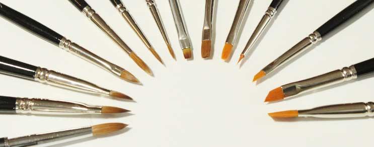 Pinsel Für Nageldesign  Nageldesign Pinsel in Studioqualität
