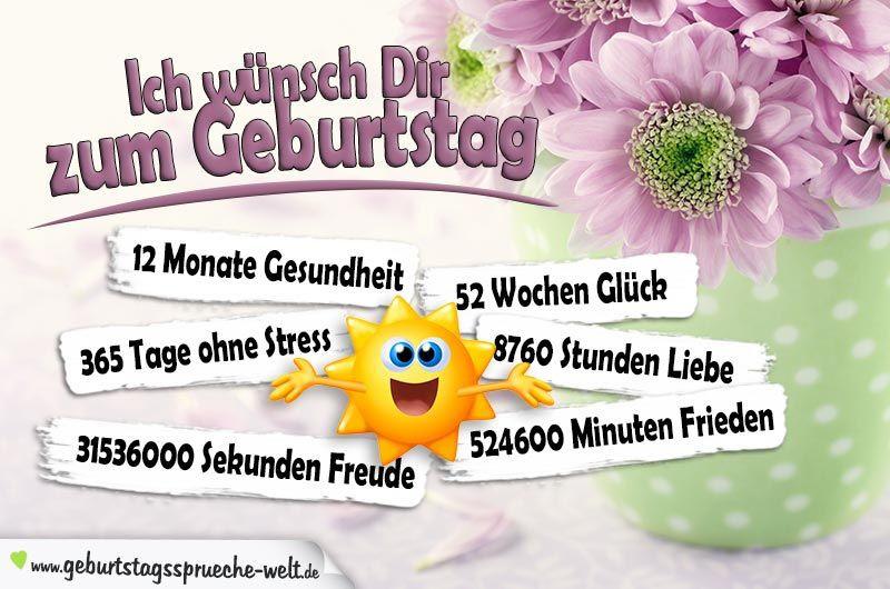 Pinterest Geburtstagswünsche  Pin von Heidi Falk auf Geburtstagswünsche