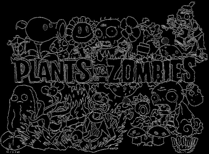 Plants Vs Zombies Ausmalbilder  plants vs zombies coloring pages for kids