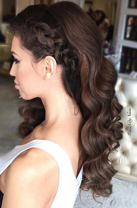 Prom Frisuren  29 lange lockige Prom Frisuren Frisur Für Alle