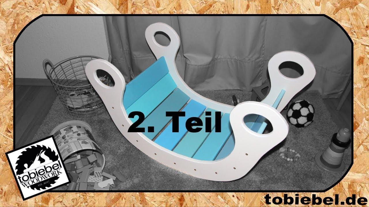 Regenbogenwippe Diy  2 2 DIY Kinder Regenbogenwippe aus Holz Kinderspielzeug