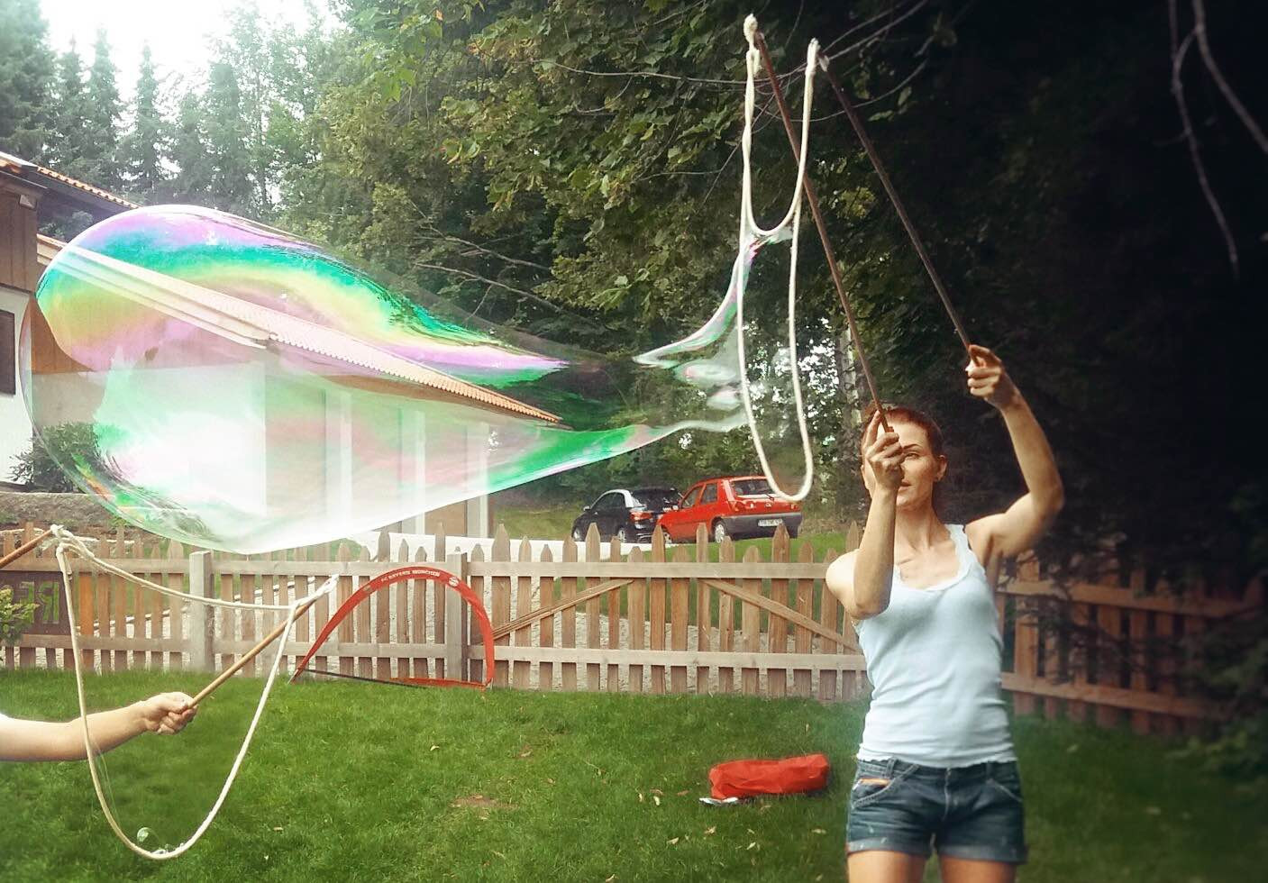 Riesenseifenblasen Diy  Riesenseifenblasen DIY