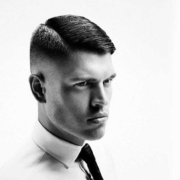 Rockabilly Frisuren Herren  greaser rockabilly Frisuren kurze Haare für Männer