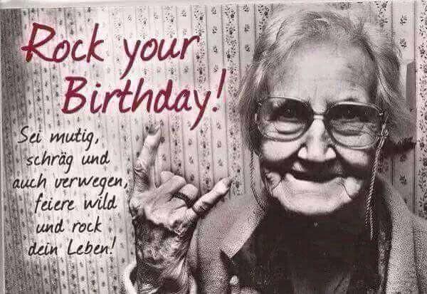 Rockige Geburtstagswünsche  geburtstag geburtstag Pinterest