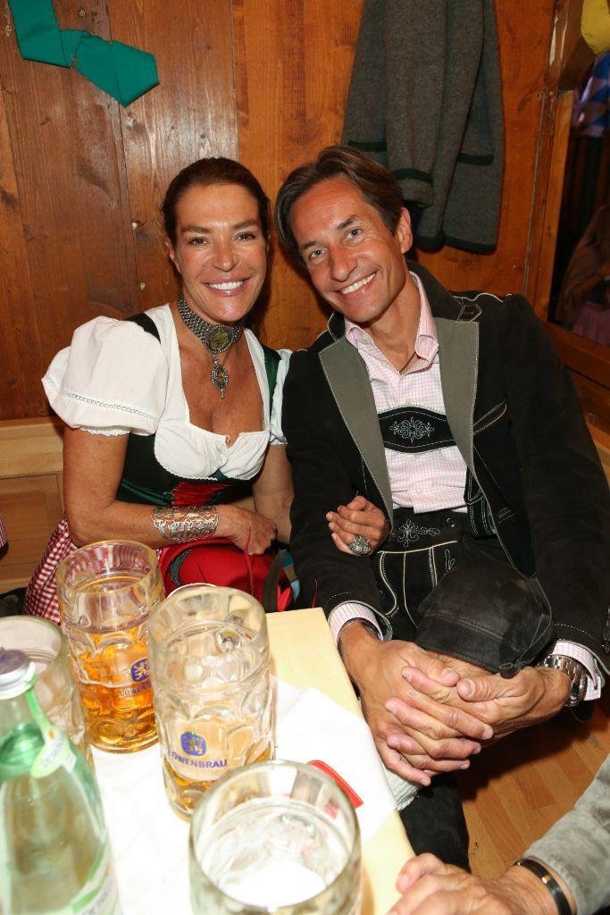 Roman Rummenigge Hochzeit  Roman Rummenigge mit Freundin Lisa Abendzeitung München
