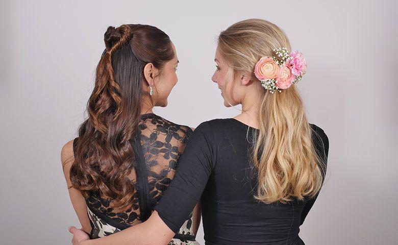 Romantische Frisuren  Romantische Frisuren selber machen Anleitung