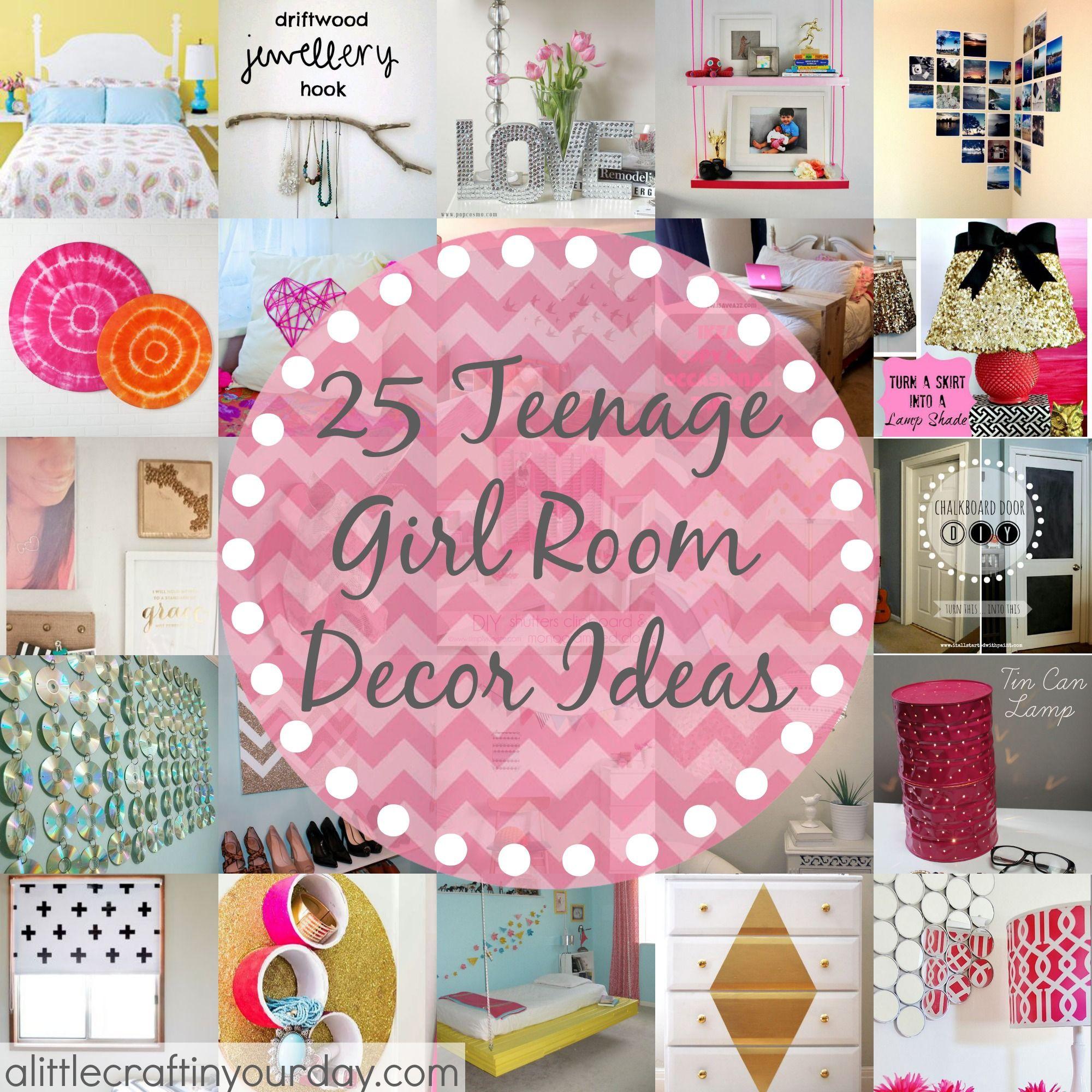 Room Diy  Girl Room Decorating on Pinterest