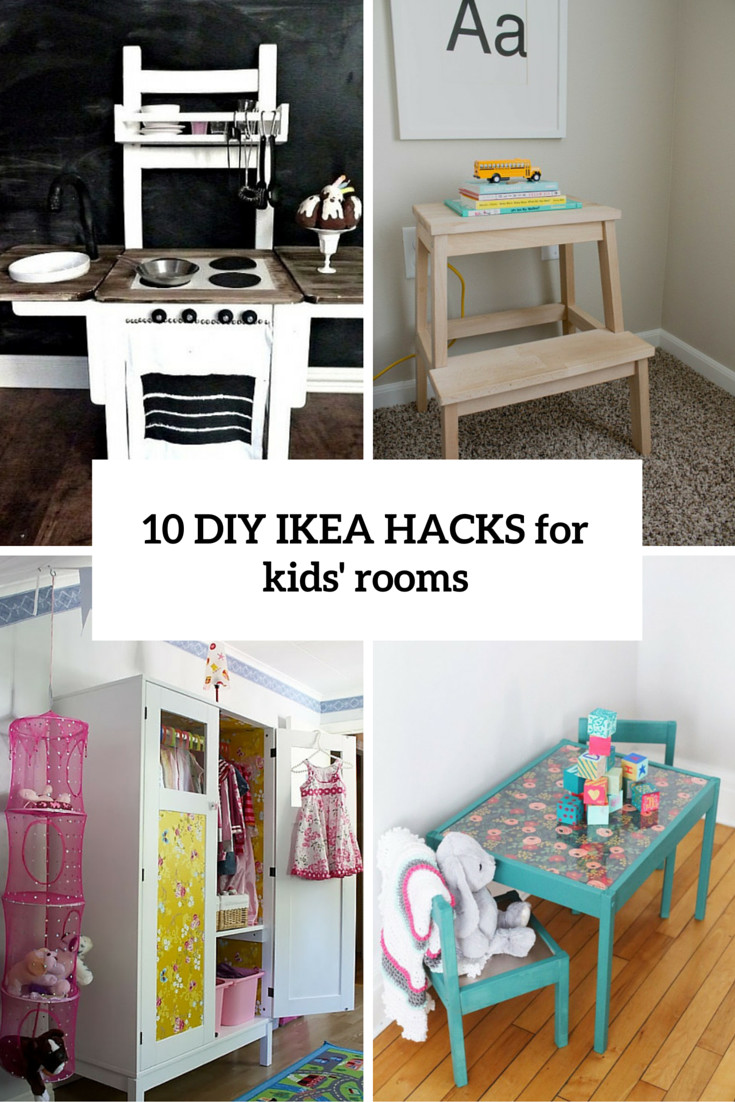Room Diy  10 Awesome DIY IKEA Hacks For Any Kids' Room Shelterness