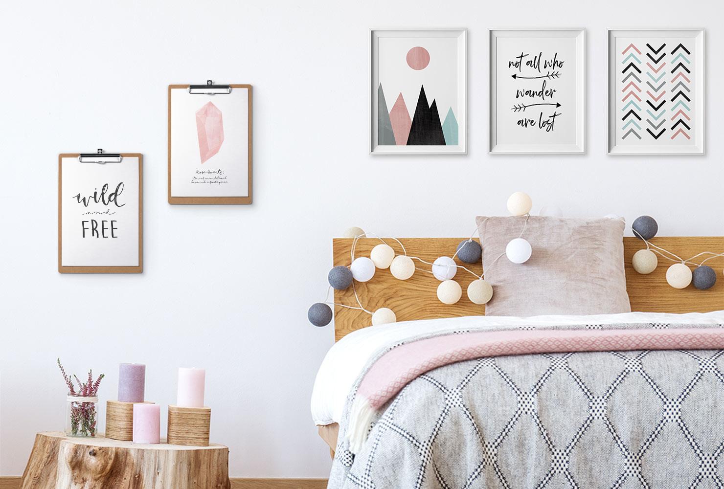 Room Diy  24 DIY Bedroom Decor Ideas To Inspire You With Printables