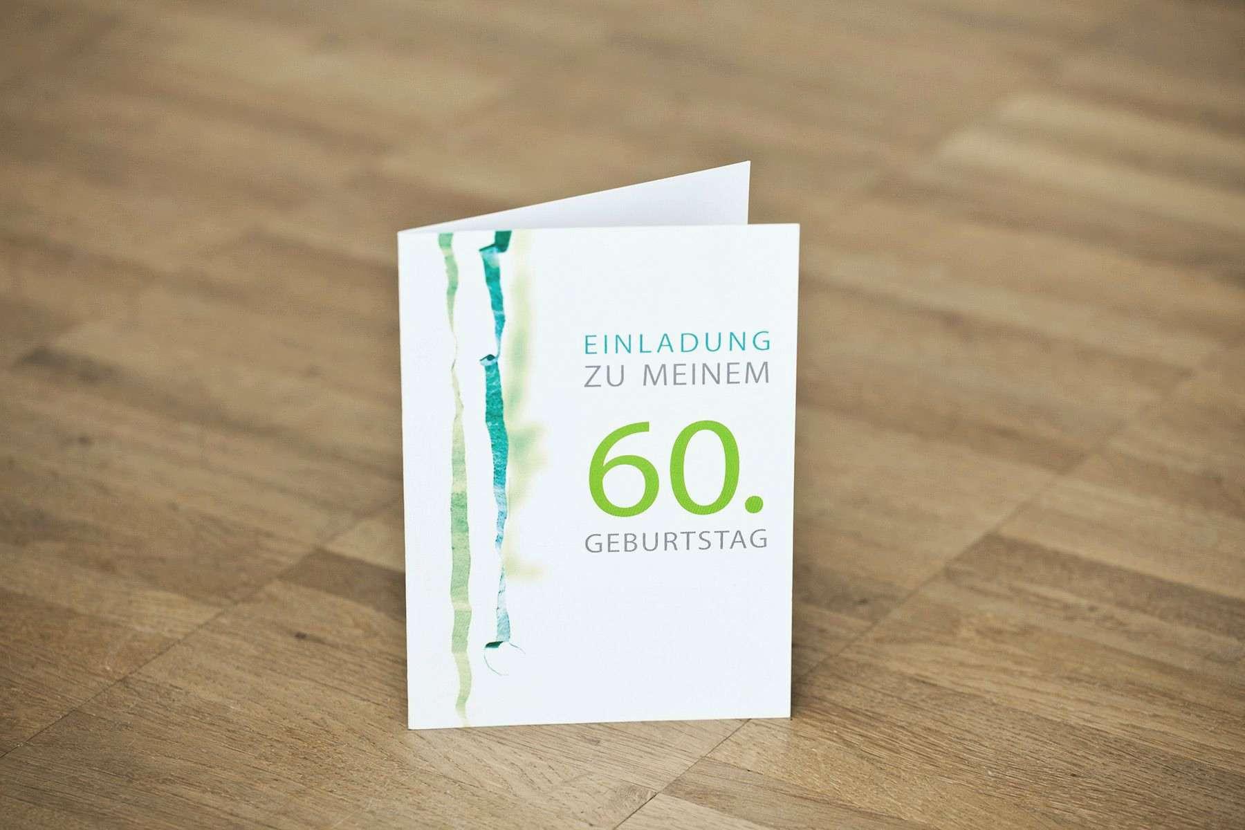 Rossmann Geburtstagskarten  Einladungskarten 60 Geburtstag Selbst Basteln