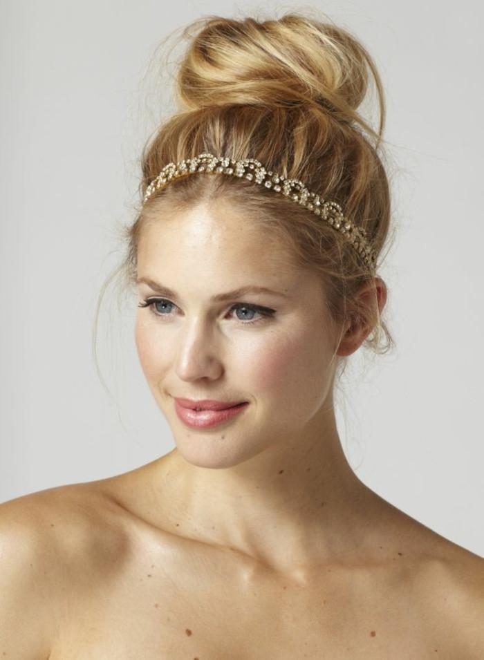 Schicke Frisuren  Frisuren mit Haarband Inspirierende stilvolle Ideen