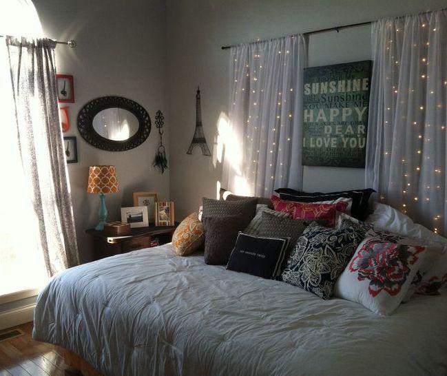 Schlafzimmer Diy  coole deko ideen schlafzimmer mit kreativer DIY Wanddeko