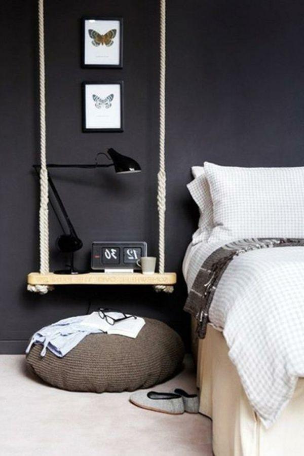 Schlafzimmer Diy  DIY Möbel aus Europaletten – 101 Bastelideen für