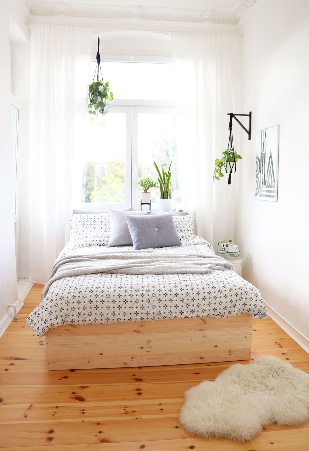 Schlafzimmer Diy  Kleine Schlafzimmer einrichten & gestalten
