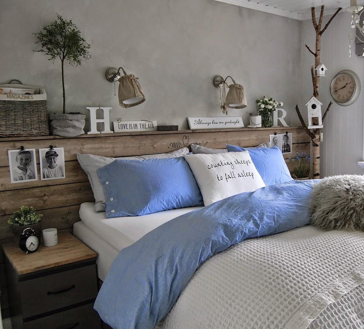 Schlafzimmer Diy  50 Schlafzimmer Ideen für Bett Kopfteil selber machen