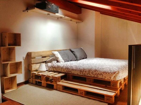 Schlafzimmer Diy  Bett aus Paletten 32 coole Designs Archzine