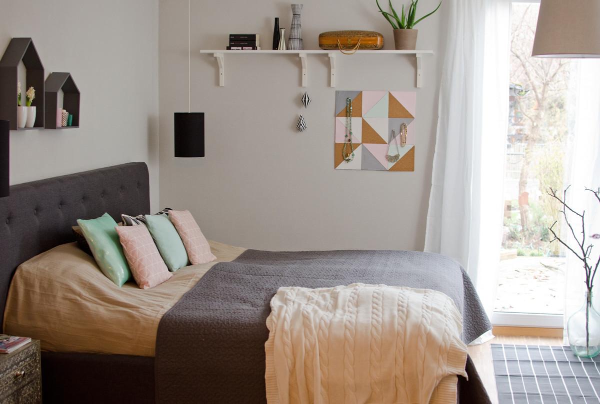 Schlafzimmer Diy  Bilder vom Schlafzimmer Leelah Loves
