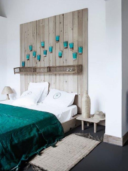 Schlafzimmer Diy  kreative deko ideen schlafzimmer mit diy kopfteil aus