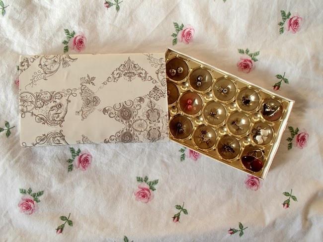 Schmuckkästchen Diy  31 85 DIY Ohrringschachtel aus Toffifee Verpackung