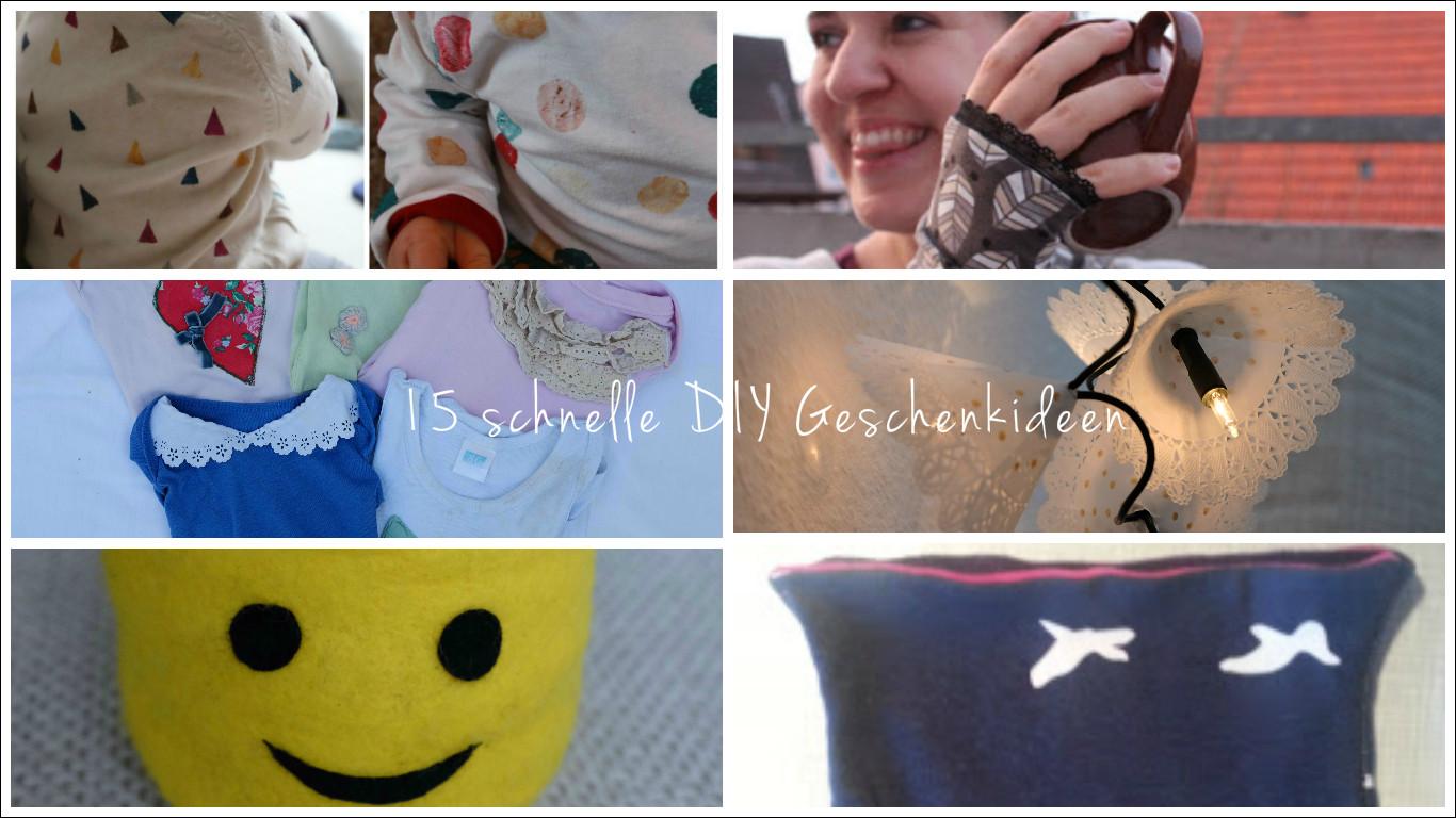 Schnelle Diy Geschenke  15 schnelle DIY Geschenkideen für Weihnachten Fuchsgestreift