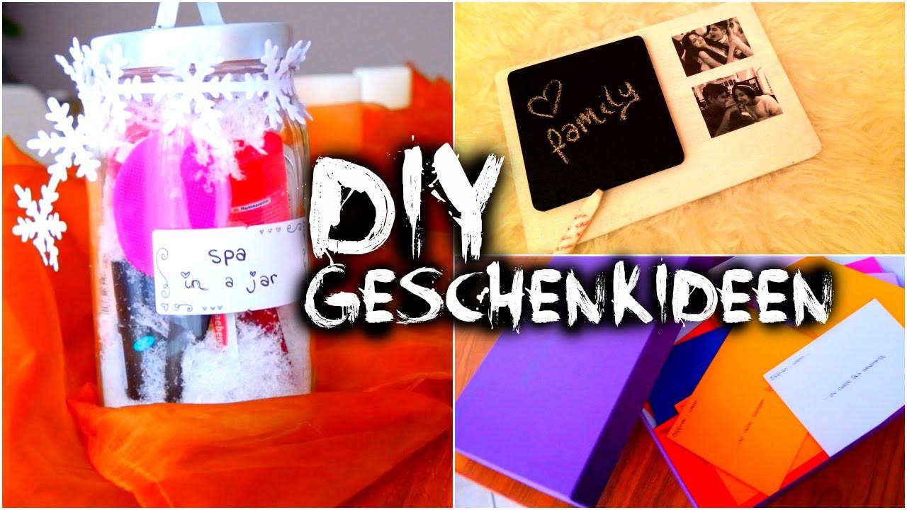 Schnelle Diy Geschenke  DIY Geschenkideen für jedermann schnell & einfach