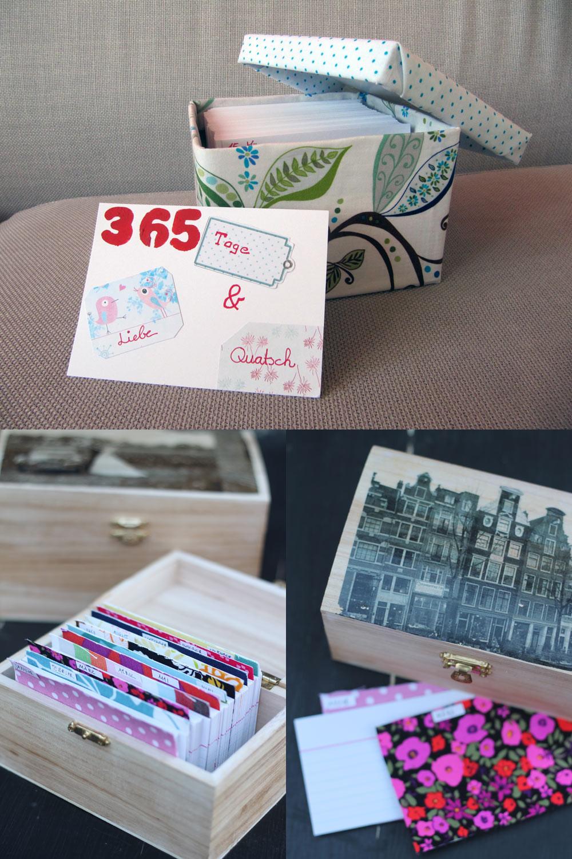 Schnelle Diy Geschenke  kleine Moment Kalender selbermachen 7 DIY Geschenke zur