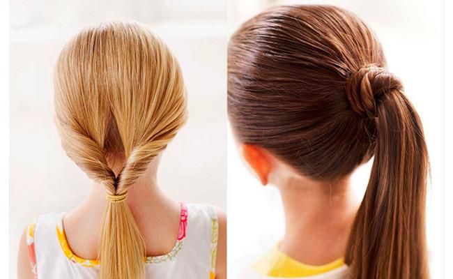 Schnelle Frisuren Für Die Schule  Ideen von schönen Frisuren zur Schule für Mädchen