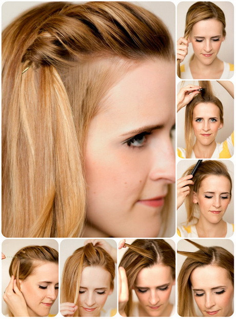 Schnelle Frisuren Für Die Schule  Frisuren für schule lange haare