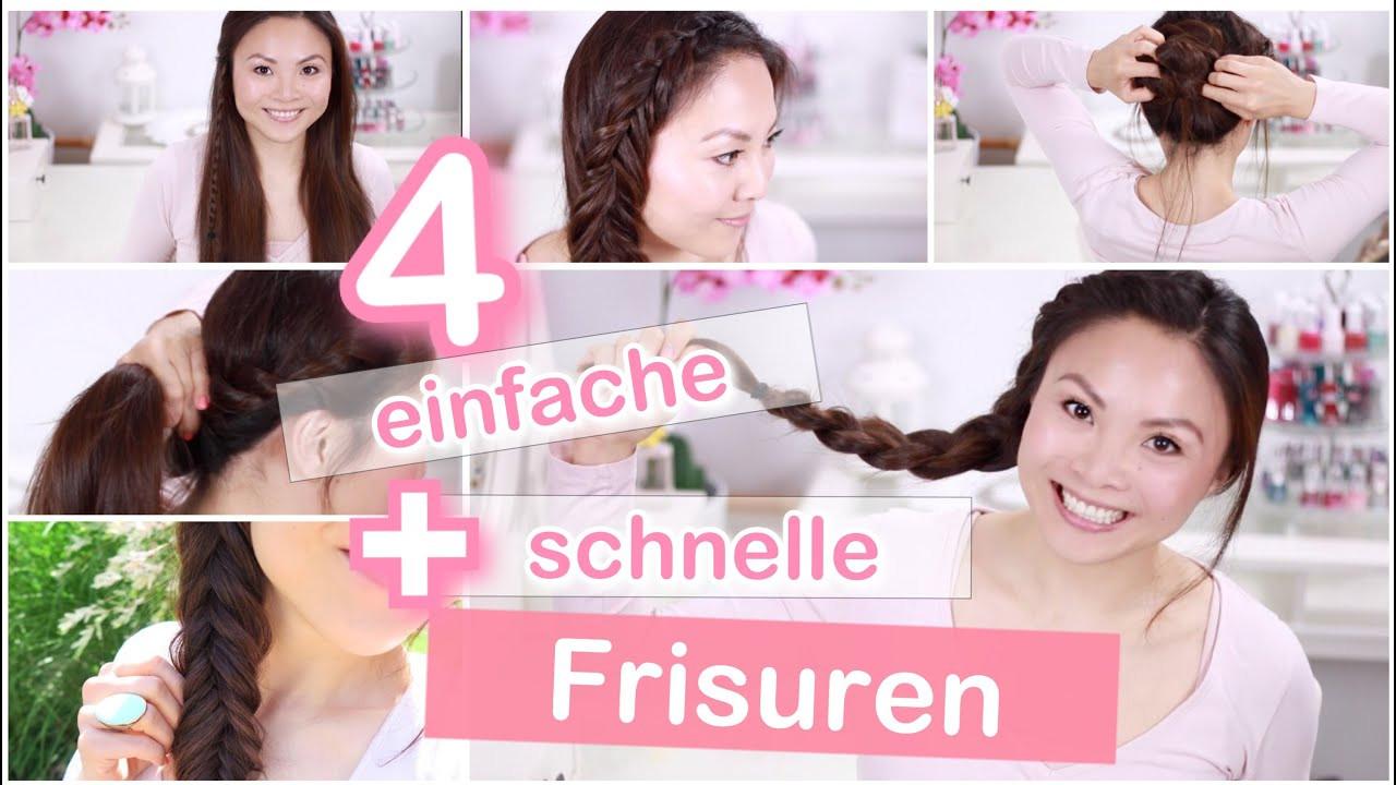 Schnelle Frisuren Für Die Schule  4 einfache schnelle Frisuren für Schule Uni Arbeit