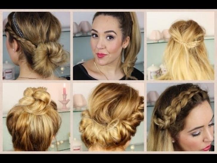 Schnelle Frisuren Für Die Schule  Einfache Frisuren Mittellanges Haar ask fo