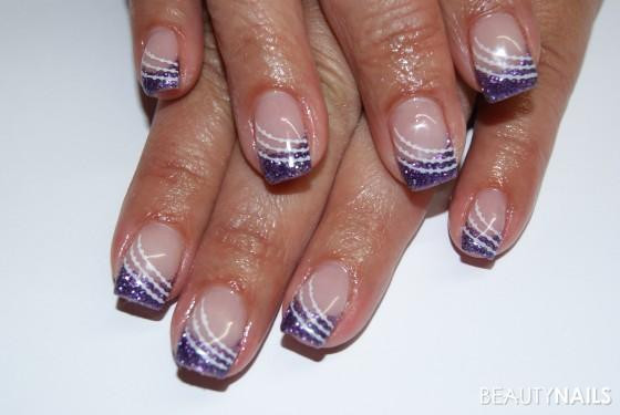 Schnelle Nageldesigns  einfache und schnelle Nägel Nageldesign