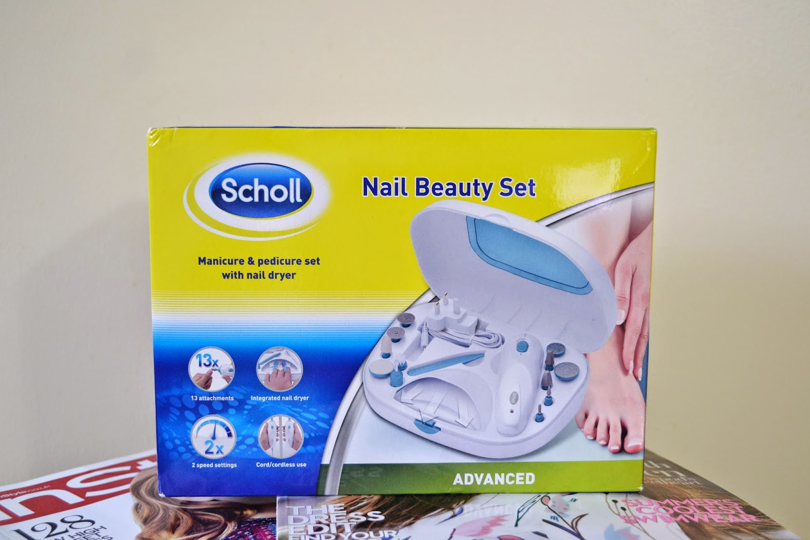 Scholl Maniküre Set  Scholl Manicure Pedicure Nail Beauty Set Christmas Gift
