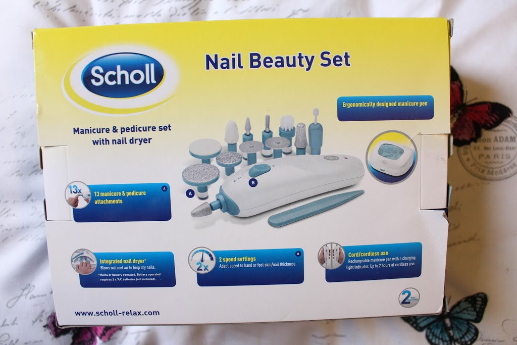 Scholl Maniküre Set  SCHOLL NAIL BEAUTY SET – Krystel Couture