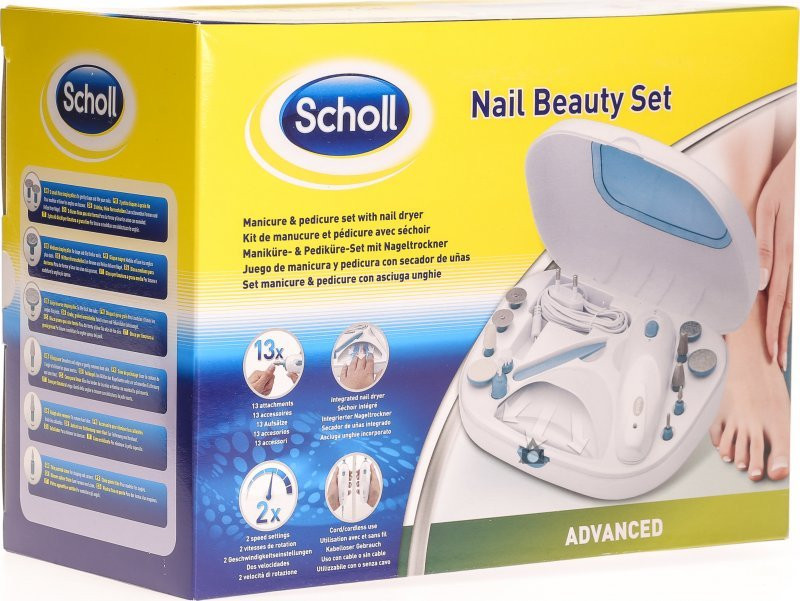 Scholl Maniküre Set  Scholl Nail Beauty Manicure Pedicure Set in der Adler Apotheke