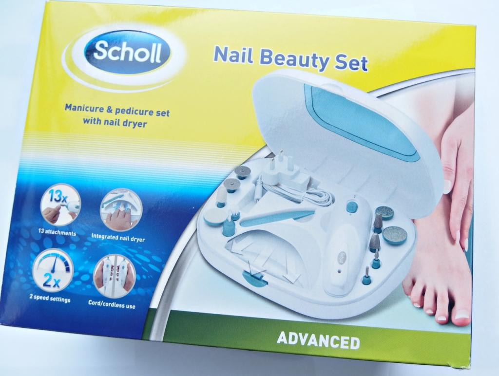 Scholl Maniküre Set  Scholl Nail Beauty Manicure & Pedicure Set Review