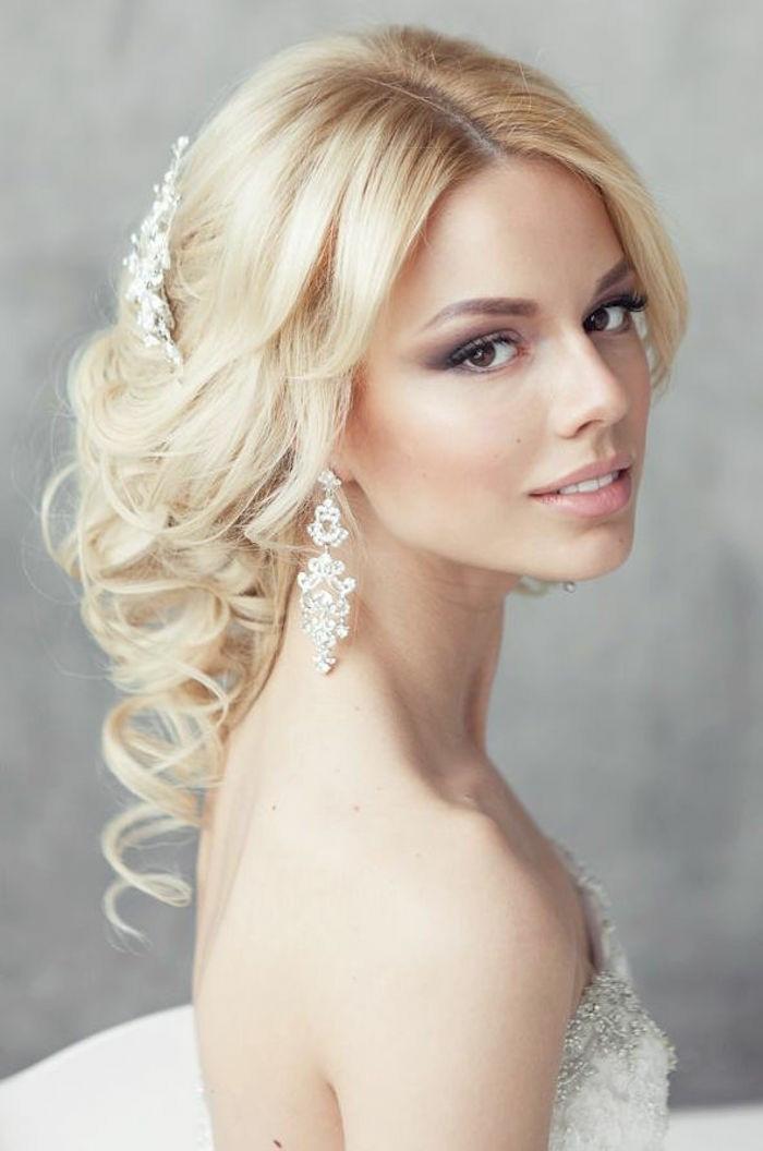 Schöne Frisuren Mit Locken  80 schöne Frisuren für Hochzeit perfekte
