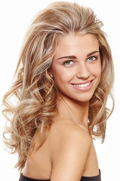 Schöne Frisuren Mit Locken  Traumfrisur für blonde Locken