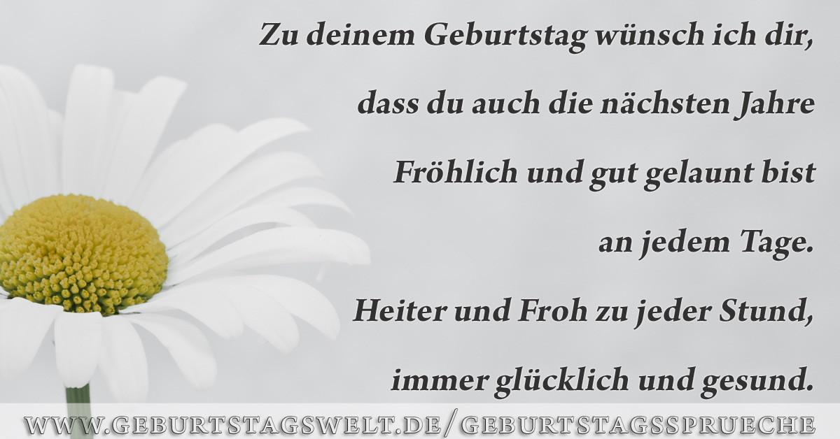 Schöne Geburtstagsbilder  Kostenlose Geburtstagsbilder Sprüche Grüße & Gedichte